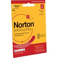 NORTON AntiVirus Plus 2019 - 1 year for 1 device