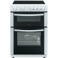 LOGIK LFTC60W16/A 60 cm Electric Ceramic Cooker - White, White