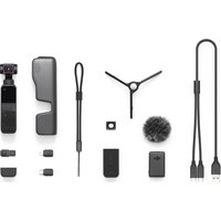 DJI Pocket 2 Camera Creator Combo - Black, Black
