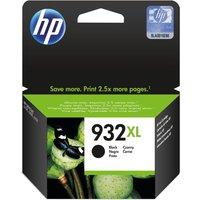 HP 932XL Black Ink Cartridge, Black