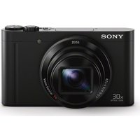 Sony Cyber-shot DSC-WX500B Superzoom Compact Camera - Black, Black