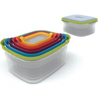 JOSEPH JOSEPH 81005 Rectangular Storage Container Set - Pack of 6