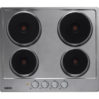 ZANUSSI ZEE6940FXA Electric Solid Plate Hob - Stainless Steel, Stainless Steel