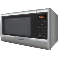 HOTPOINT MyLine MWH 2031 Solo Microwave - Silver, Silver