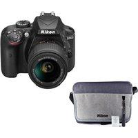 NIKON D3400 DSLR Camera with 18-55 mm f/3.5 Lens & Accessory Kit