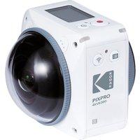 KODAK PIXPRO 4KVR360 4K Ultra HD 360 Action Camcorder - White, White