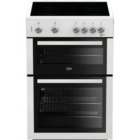 BEKO XTC611W 60 cm Electric Cooker - White, White