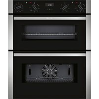 NEFF J1ACE4HN0B Electric Built-under Double Oven - Stainless Steel, Stainless Steel