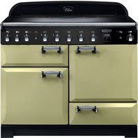 RANGEMASTER Elan Deluxe ELA110EIOG 110 cm Electric Induction Range Cooker - Green and Chrome, Green