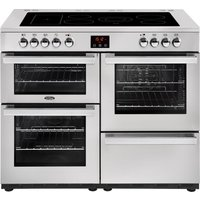 Click to view product details and reviews for Belling Cookcentre 110e Electric Ceramic Range Cooker Stainless Steel Stainless Steel.