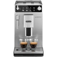 DELONGHI Autentica ETAM 29.510.SB Bean to Cup Coffee Machine - Silver & Black, Silver