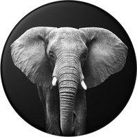 POPSOCKETS Swappable PopTop Loxodonta Africana Phone Grip - Elephant