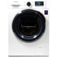 SAMSUNG AddWash WW80K6414QW Washing Machine - White, White