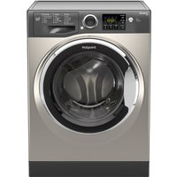 HOTPOINT Smart RSG845JGX Washing Machine - Graphite, Graphite