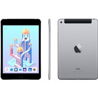 APPLE iPad mini 4 Cellular - 128 GB, Space Grey, Grey