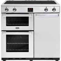 BELLING Gourmet 90Ei Professional Electric Induction Range Cooker - Stainless Steel, Stainless Steel