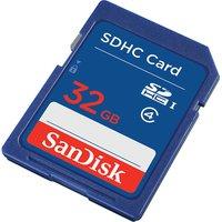 SANDISK Elite Class 4 SD Memory Card - Blue, Blue
