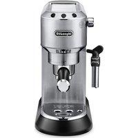 DELONGHI Dedica EC685.M Coffee Machine - Silver, Silver