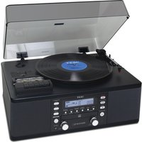 Teac Lp-r550a Turntable - Black, Black