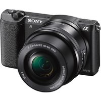 SONY a5100 Mirrorless Camera with 16-50 mm f/3.5-5.6 Lens - Black, Black