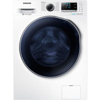 Samsung Ecobubble Wd80j6a10aw 8 Kg Washer Dryer - White, White