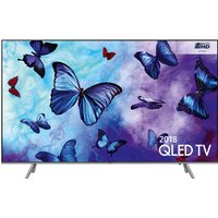 "55""  SAMSUNG QE55Q6FNATXXU Smart 4K Ultra HD HDR QLED TV, Black sale image"