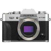 FUJIFILM X-T30 Mirrorless Camera - Body Only, Silver, Silver