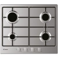 CANDY CHW6BRX Gas Hob - Stainless Steel, Stainless Steel