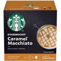STARBUCKS Dolce Gusto Caramel Macchiato Coffee Pods - Pack of 12