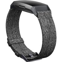 FITBIT Charge 3 Woven Band - Charcoal, Small, Charcoal
