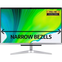 """ACER C22-960 21.5"""" All-in-One PC - Intel® Core™ i3, 1 TB HDD, Silver, Silver"""