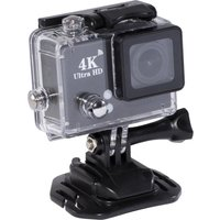 DAEWOO AVS1360 4K Ultra HD Action Camera - Black, Black