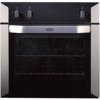 BELLING BI60F Electric Oven - Stainless Steel & Black, Stainless Steel