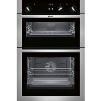 NEFF U14S32N5GB Electric Double Oven - Stainless Steel, Stainless Steel