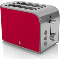 Buy SWAN Retro ST17020RN 2-Slice Toaster - Red, Red - Currys PC World