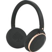 KATE SPADE New York Wireless Bluetooth Headphones - Rose Gold & Black Gem, Gold