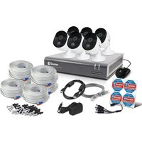 SWANN SODVK-845806 Full HD Smart Home Security System, Black