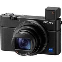 SONY Cyber-shot DSC-RX100 VI High Performance Compact Camera - Black, Black.