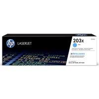 HP 203X Cyan Toner Cartridge, Cyan