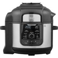 Foodi Max OP500UK Multi Pressure Cooker & Air Fryer - Black & Silver, Black