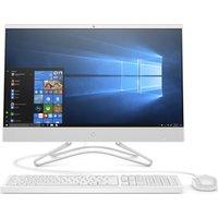 "HP 24-f0047na 23.8"" All-in-One PC - Intel® Core™ i3+, 1 TB HDD, White, White"