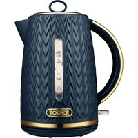 TOWER Empire Collection T10052MNB Jug Kettle - Midnight Blue, Blue.