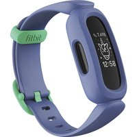 FITBIT ACE 3 Kid's Fitness Tracker - Blue & Green, Universal, Blue.