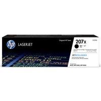 HP 207X Black Toner Cartridge, Black