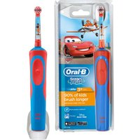 ORAL B Vitality Stages Kids Electric Toothbrush - Disney Cars, White