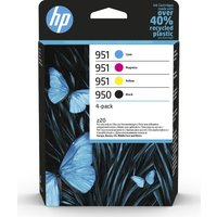 HP 950 & 951 Cyan, Magenta, Yellow & Black Ink Cartridges - Multipack, Cyan