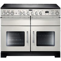 RANGEMASTER Excel 110 Electric Ceramic Range Cooker - Ivory & Chrome, Ivory