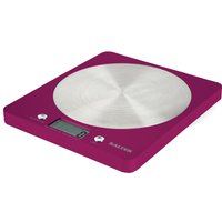 SALTER 1046 PKDR Colour Weigh Digital Kitchen Scales - Raspberry Pink, Pink