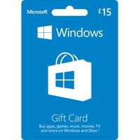 MICROSOFT Windows Gift Card - 15