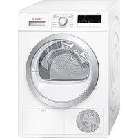 BOSCH WTN85200GB Condenser Tumble Dryer - White, White